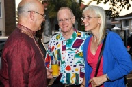 With Christopher and Evelyn Ballantine